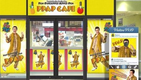 Uh! Ada Kafe 'Pen Pineapple Apple Pen' Di Jepang