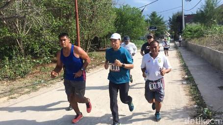 Gubernur NTB Ajak Aksi Sehat Lewat Colour Run Dalam Festival Pesona Gili