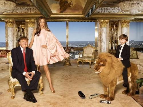 Foto: Mengintip Apartemen Mewah Donald Trump Sebelum Pindah ke Gedung Putih