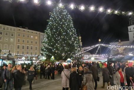 Video Pasar Malam yang Muncul Jelang Natal di Salzburg