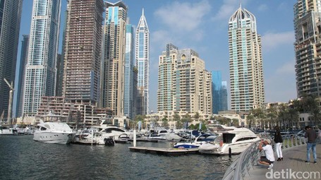 Dubai Menyulap Gurun Pasir Jadi Marina