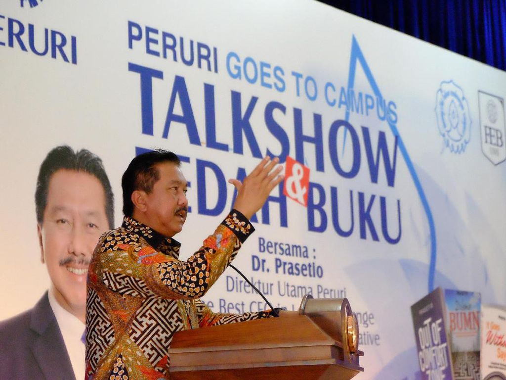 Peruri Goes to Campus UNS