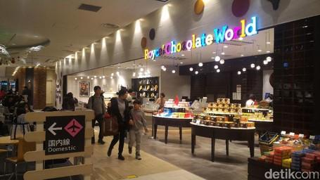 Ssssttt.. Ada Pabrik Coklat Di Bandara New Chitose!
