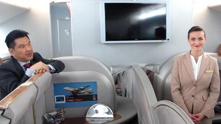Tempat Pramugari Emirates Berlatih Layani Penumpang