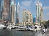Marina Buatan & Gedung Berputar di Dubai