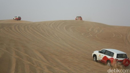 Kamu Harus Coba, Menaklukan Gurun Pasir Dubai