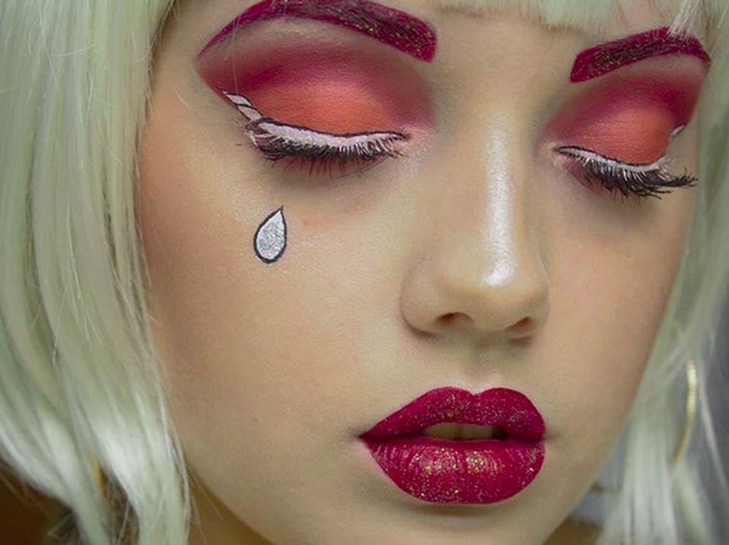 Cute, Eyeliner Bentuk Unicorn Ini Jadi Tren di Instagram