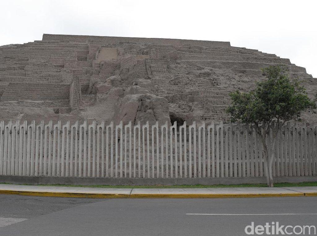 Potret Piramida di Peru yang Jadi Tempat Pengorbanan Manusia