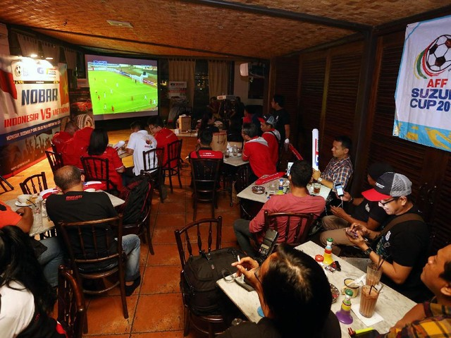 Nobar Timnas Indonesia vs Vietnam