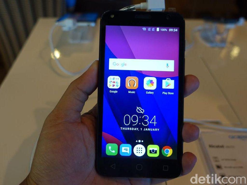 4 Ponsel Alcatel Serbu Indonesia