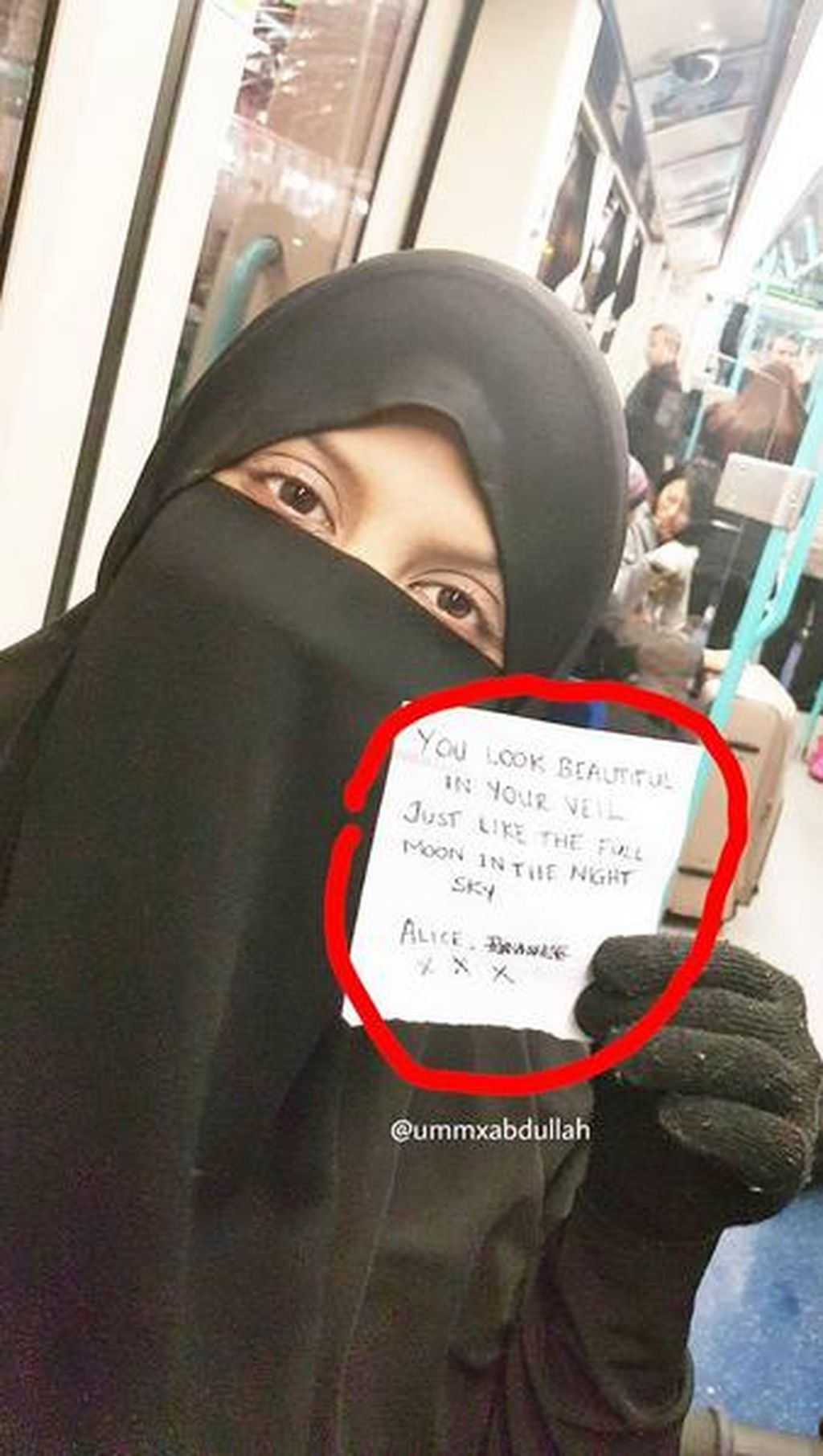 Bercadar di Kereta, Wanita Ini Dapat Surat Cinta dari Orang Misterius
