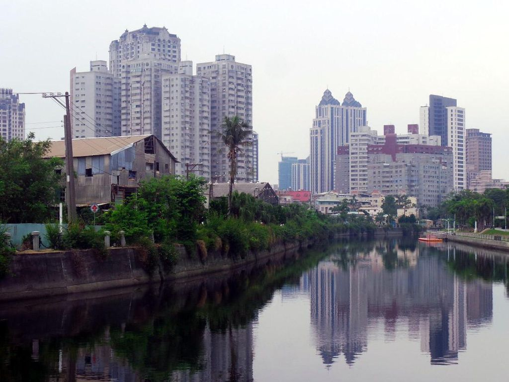Foto Sungai Cinta Nan Romantis di Taiwan