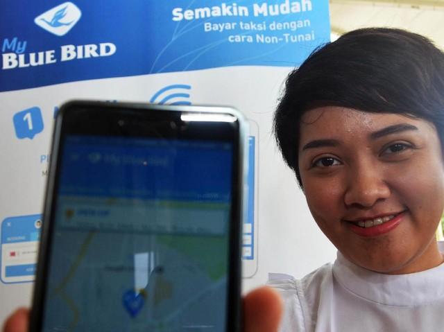 Hari Belanja Online, Naik Taksi Blue Bird Cuma Bayar Rp 20 Ribu