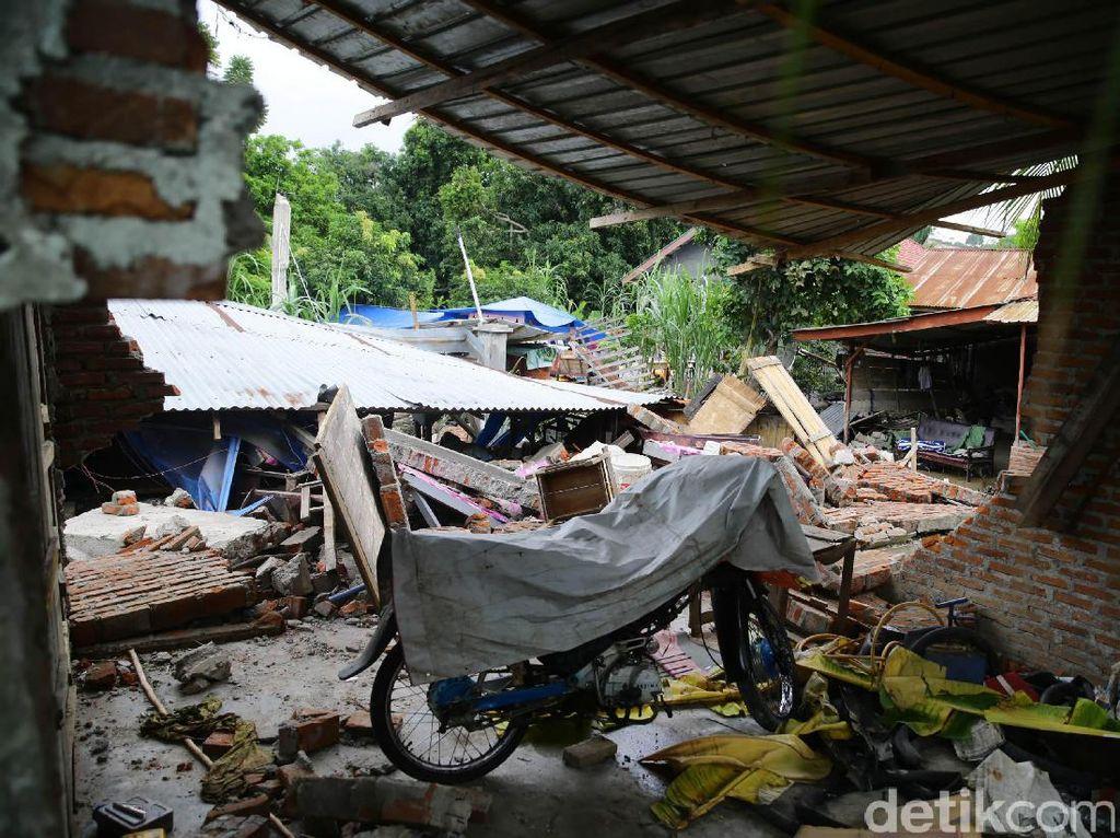 90 Persen Rumah di Desa Kuta Pangwa Aceh Rusak