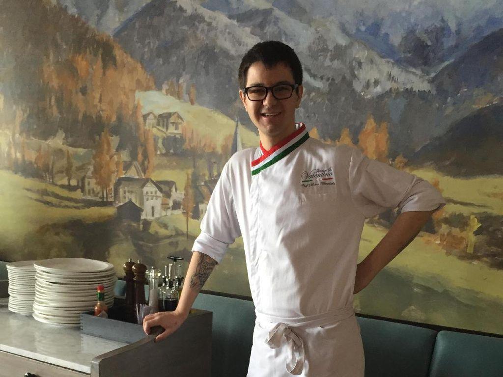 Chef Marco berusia 27 tahun. Merupakan sepupu Chef Valentino, pendiri sekaligus pemilik Ristorante da Valentino. Restoran ini menyajikan hidangan Italia istimewa berupa menu rumahan yang sudah dimasak keluarganya turun temurun.