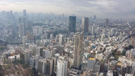 Pemandangan Tokyo yang Berbeda dari Tokyo Tower