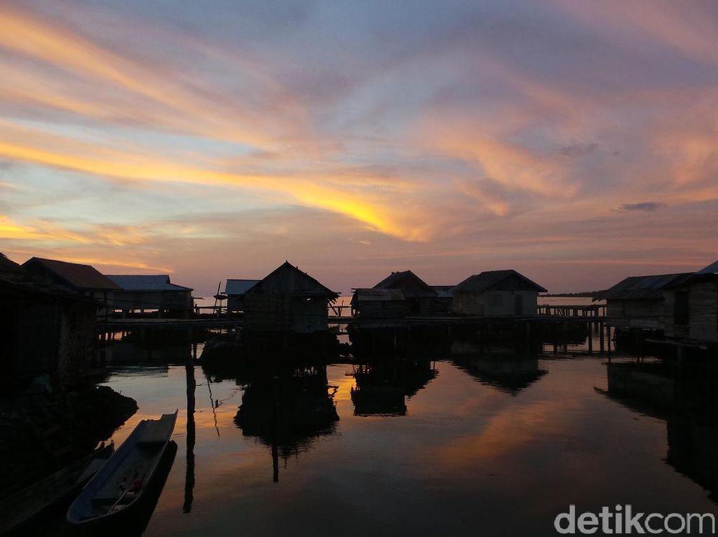 Ini Salah Satu Spot Terbaik Melihat Sunset di Wakatobi