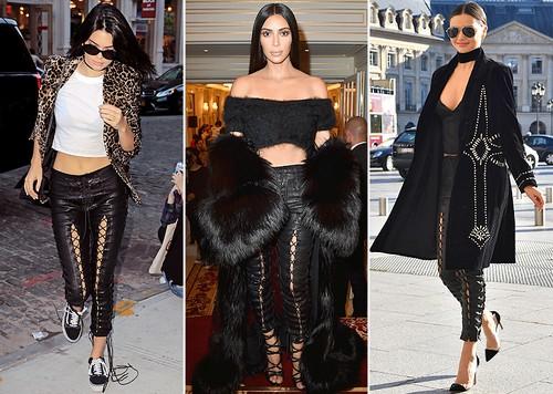 Tren Celana Kulit Rp 27 Juta Selebriti, dari Kim Kardashian Sampai Gigi Hadid