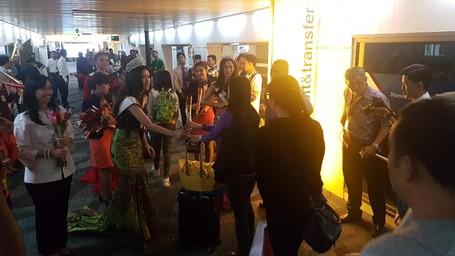 Bandara Soetta Sambut Meriah Kedatangan Wisman Pertama Di Tahun 2017