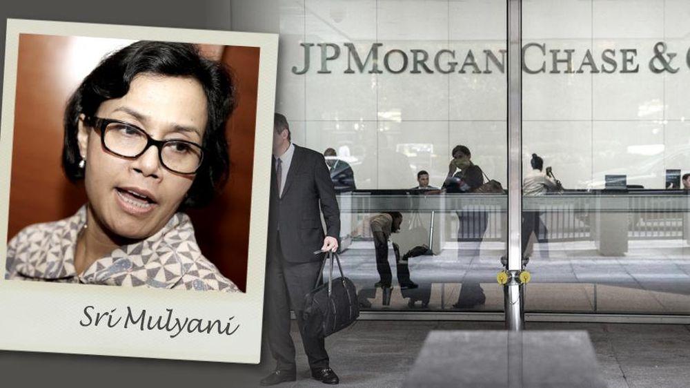 Sri Mulyani Putus Kontrak JPMorgan