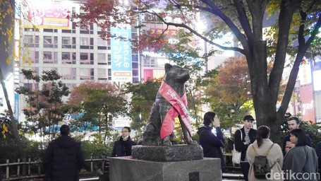Pesan Kesetiaan Di Sudut Persimpangan Tersibuk Di Jepang