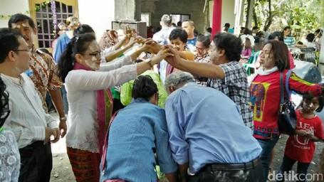 Mandi-mandi, Ritual Adat Portugis Yang Unik Di Jakarta