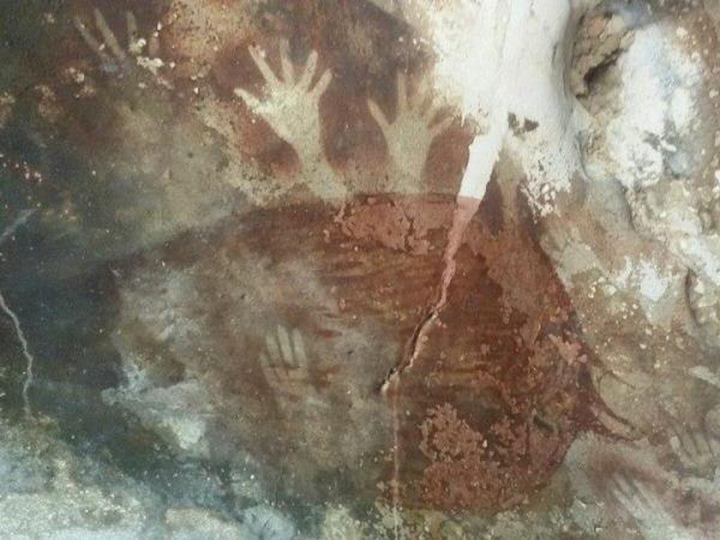Lukisan Purba di Sulawesi Selatan