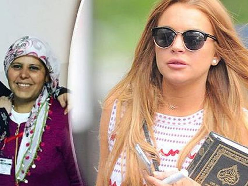 Lebih Religius, Lindsay Lohan Mualaf?