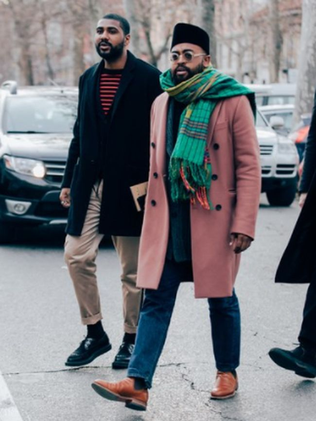 Pakai 39 Sarung Dan Peci 39 Pria Ini Masuk Street Style Terbaik Di Milan