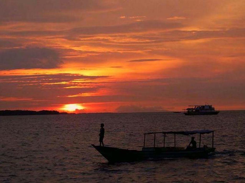 Mengenang Senja Terakhir Tahun 2016 di Pulau Pramuka