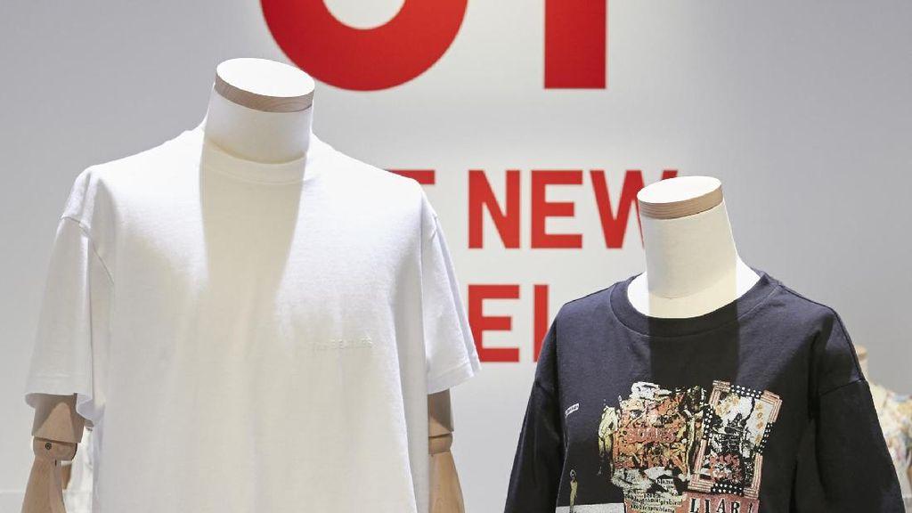 Uniqlo Kolaborasi dengan 5 Band Rock Dunia untuk Koleksi T-shirt Terbaru