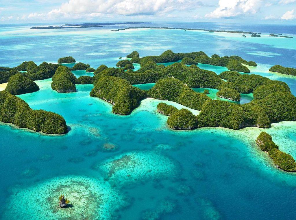 Palau di Pasifik Hanya Ingin Turis Kaya Saja