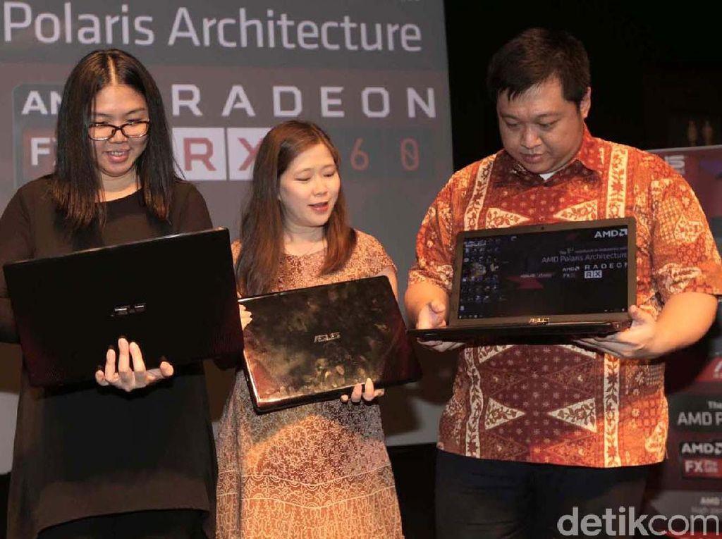 Gandeng AMD, Asus Luncurkan Laptop Gaming