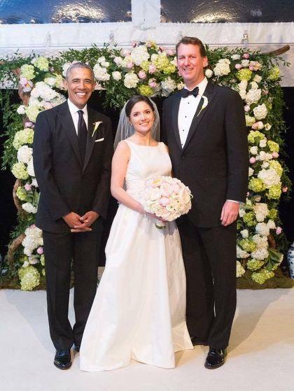 Momen Langka Saat Barack Obama Jadi Pengiring Pengantin Pria