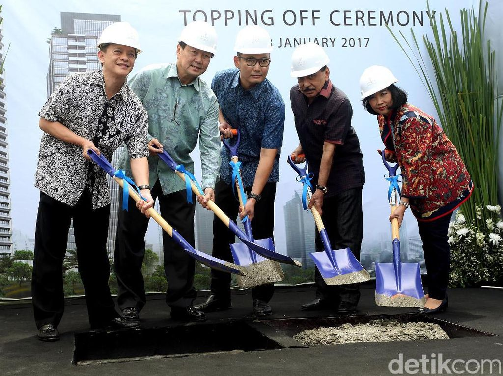 Apartemen LaVie All Suites Topping Off
