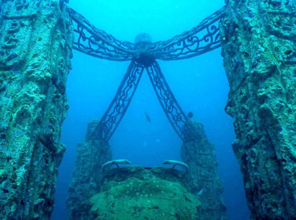 Mungkin Satu-satunya di Dunia: Pemakaman di Bawah Laut