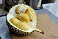 Salah satu komposisi dalam durian adalah tryptophan yang merupakan sejenis asam amino. Tryptophan mempunyai peranan dalam memproduksi hormon serotonin dan melatonin yang dapat menghindari dari insomnia. Foto: iStock