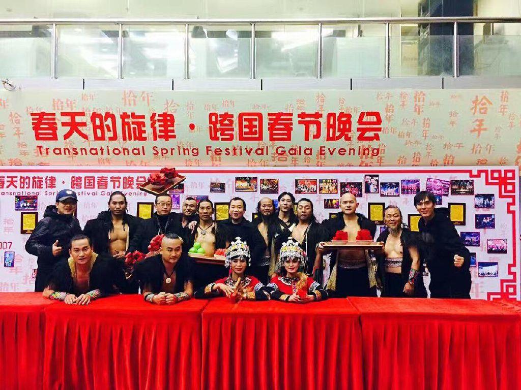 Sambut Imlek, Pertunjukan Wonderful Indonesia Pukau Warga China