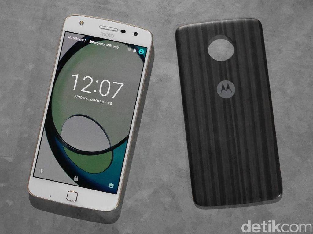 Lebih Dekat dengan Ponsel Modular Moto Z