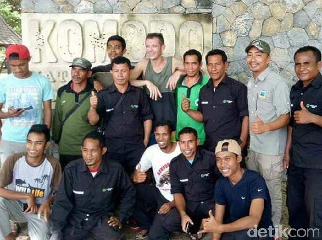 Ini Cerita Ranger yang Menemani Valentino Rossi di Pulau Komodo