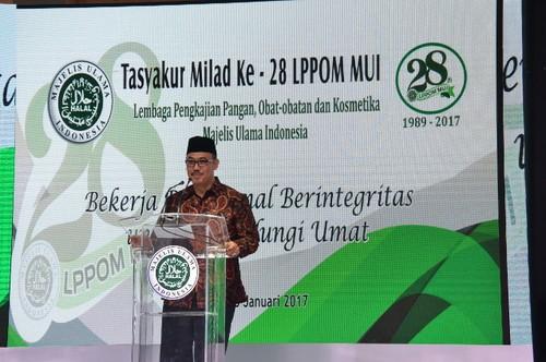 Milad ke-28, LPPOM MUI akan Tingkatkan Layanan Online Sertifikasi Halal