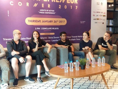 Tulus Hingga Walikota Risma Bicara Soal Wirausaha di Creativepreneur Corner 2017