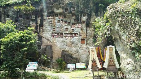 Ada Makam Baru Di Toraja, Seminggu Dibikin Merinding