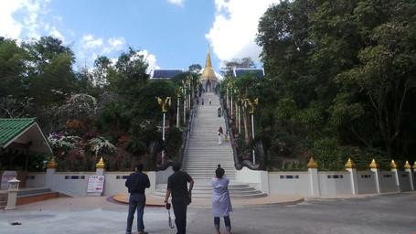 Pagoda Cantik Di Perbukitan Thailand