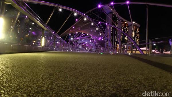 Instagenic, Ini Potret Singapura Saat Malam Hari