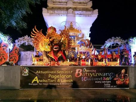 Malam Mingguan Khas Dari Banyuwangi, Ada Pertunjukan Seni Budaya!