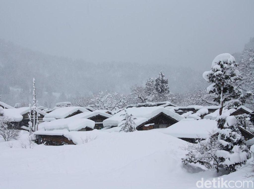 Instagenic, Ini Desa Tradisional Jepang yang Tertutup Salju