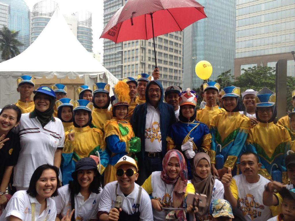Serunya Saat Bahaya Kanker Anak Dikampanyekan Lewat Hiburan