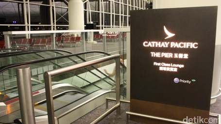 ​Mengintip Kemewahan First Class Lounge Cathay Pacific