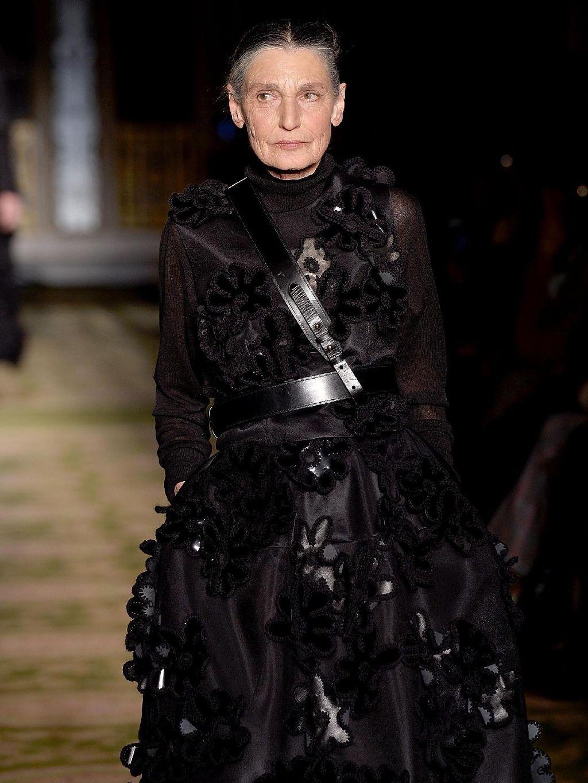 Desainer Pakai Nenek 73 Tahun Jadi Model di London Fashion Week